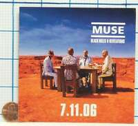 BRAND NEW MUSE BLACK HOLES AND REVELATIONS PROMO STICKER DECAL VERY RARE!!!