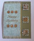 Custom hand made Birthday day card 'Peace'