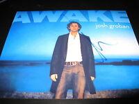 JOSH GROBAN SIGNED AUTOGRAPH 8x10 PHOTO PROMO YOU RAISE ME UP IN PERSON COA E