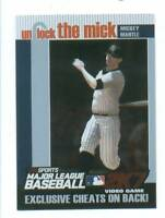 2007 Topps Unlock The Mick Mickey Mantle New York Yankees Near Mint # 3 0f 15
