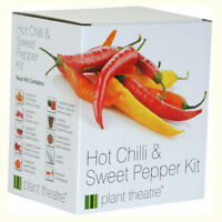 Hot Chilli & Sweet Pepper Kit by Plant Theatre - Grow Your Own Gift