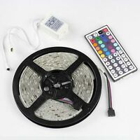 16.4Ft 5M RGB SMD 5050 150leds Waterproof LED Light Strip + 44Key IR Controller