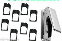 Micro Sim Card Cutter tool with 8 Sim Adapters for Apple iPhone 4 4th 4s A1332