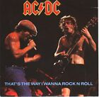 """AC/DC ACDC That's The Way I Wanna Rock 'N Roll 7"""" 45 PICTURE SLEEVE NEW RARE!!!"""