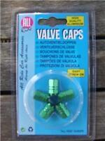 Brand New Green Valve Caps  Dust Caps 5pc
