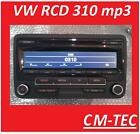 VW Radio CD mp3 RCD 310 Passat,Golf 6,Caddy,Touran,Eos,Polo 2013 1K0035186AN