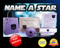NAME A STAR! The perfect Valentines Day gift! For him or her!