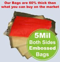 5Mil 100 Quart Bags FoodSealer FoodSaver Weston Vacuum Sealer Storage Bag Roll