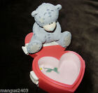 VERY RARE ME TO YOU PERFECT GIFT 2003 FIGURINE SECRET LOVE HEART TRINKET BOXED