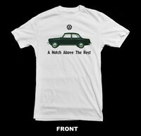 VINTAGE VOLKSWAGEN NOTCHBACK (VW) T-SHIRT ~NEW~ All SIZES - Various Colors