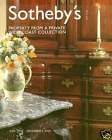 Sotheby's Property Private West Coast Collection 2003