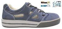 Maxguard S1P Sicherheitsschuhe S357 Arbeitsschuhe Sneaker Sandale blau