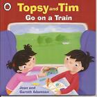 TOPSY and TIM - GO ON A TRAIN Children's Picture Reading Story Book Jean Adamson
