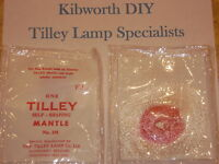 5  TILLEY LAMP FLOOD LAMP MANTLES FL6 MANTLE 191 LAMP TILLY PARAFFIN FLOODLIGHT
