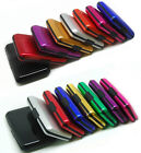 Deluxe Aluma Case Wallet Credit Card Holder Protect RFID Scanning Metal Fashion