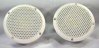 """Vidsonix 3"""" PAIR Full-Range White - Waterproof / Marine / Bathroom Speakers"""