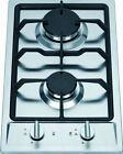 Ramblewood Green LPG/Propane Gas 2 Burner Cooktop, GC2-43P