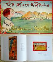 1941 Palestine BARLEVI CHILDREN BOARD GAME Israel LITHOGRAPH Box JUDAICA Jewish