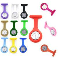 Gifts Silicone Nurse Watch Brooch Fob Pocket Medical Tunic Quartz Movement Watch