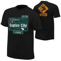 WWE BROCK LESNAR SUPLEX CITY LONDON OFFICIAL T-SHIRT NEW (ALL SIZES)