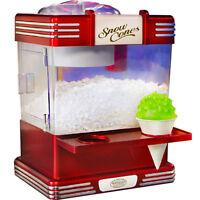 Mini Snow Cone Maker, Shaved Ice Snowcone Machine, Nostalgia Electrics RSM-602