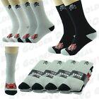 SKULL 3 6 9 12 Pairs Ankle/Quarter Crew Mens Socks Cotton Long Size 10-13 Sports