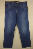 Tolle sportliche MUSTANG Jeans, Hose Baumwolle blue used Gr. W34 L32