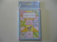 8 Baby Shower invitations, w/envelopes, Brand New and Sealed