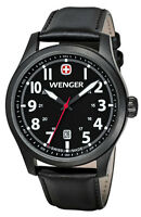 WENGER Terragraph Black Gents Watch 01.0541.101 - RRP £175 - BRAND NEW