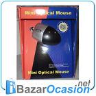 Lote 5 Unidades Mini RATON OPTICO PS2 Negro Nuevo