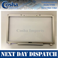 New Genuine Dell Inspiron 1720 1721 LCD Bezel With Yellow Trim Dell P/N UP887