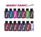HAIR DYE MANIC PANIC AMPLIFIED SEMI PERMANENT VEGAN CREAM COLOUR DYE ALL COLOURS