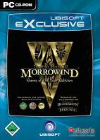 Morrowind (Game Of The Year Edition) PC - Deutsche Version in Original DVD Hülle