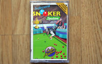 Professional Snooker Simulator Amstrad CPC Game *NEW & SEALED*