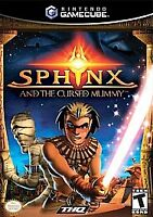 Sphinx and the Cursed Mummy (Nintendo GameCube, 2003)NO MANUAL