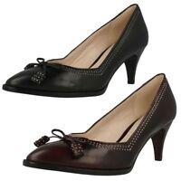 Clarks Mujer Zapatos ANTIGUO Bombay