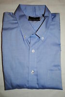 CLUB ROOM MENS WRINKLE RESISTANT PINPOINT DRESS SHIRT 3 SIZES RP $52.50 NWT
