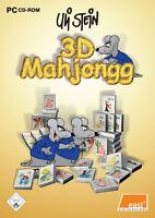 Uli Stein Vol. 2 - 3D Mahjongg (PC, 2005, DVD-Box)