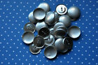 DIY 50 x self cover metal shank back buttons size 36 (23mm)