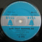 """EDNA McGRIFF AND THAT REMINDS ME ORIG 1957 OZ RELEASE 7"""" 45rpm RECORD"""