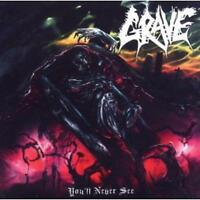 GRAVE / YOU`LL NEVER SEE... - CD * NEW & SEALED * NEU *