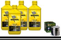 Kit Tagliando Bardahl Bardhal XTS 10W50 + Filtro Olio 160 BMW S 1000 RR K46 2012