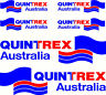 Quintrex Mirrored Two Colour Set, Fishing Boat Stickers Decals