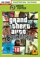 Grand Theft Auto : San Andreas (dt.) (PC, 2011, in DVD-Box) Green Pepper