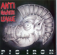 ANTI NOWHERE LEAGUE - PIG IRON CD (1996) IMPACT RECORDS