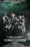 Ghostbusters vintage Movie Wall Print POSTER Decor AFFICHE