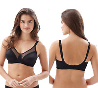 Royce Charlotte Soft Cup Maternity Non-Wired Bra Black 821 Various Sizes New