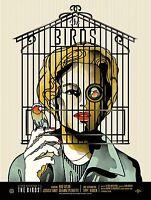 00367 THE BIRDS HITCHCOCK MOVIE ART IMAGE Poster Print