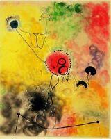 08433 JOAN MIRO  FINE ART POSTER PRINT