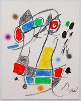 08712 JOAN MIRO  FINE ART POSTER PRINT
